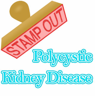 Stamp Out Polycystic Kidney Disease Cutout