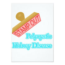 Stamp Out Polycystic Kidney Disease Invitation