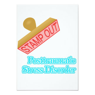 Stamp Out Posttraumatic Stress Disorder Card