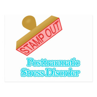 Stamp Out Posttraumatic Stress Disorder Postcards