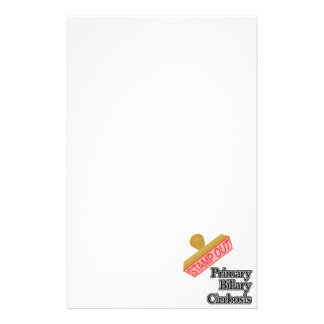 Stamp Out Primary Biliary Cirrhosis Stationery