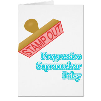 Stamp Out Progressive Supranuclear Palsy Card