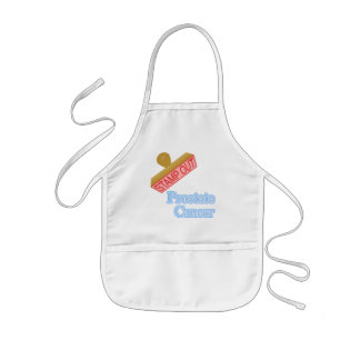 Stamp Out Prostate Cancer Kids' Apron