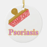 Stamp Out Psoriasis Ornaments