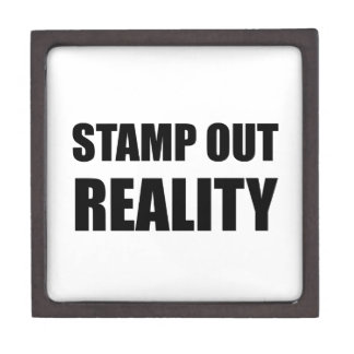 Stamp Out Reality Gift Box