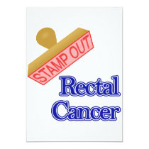 Stamp Out Rectal Cancer Card