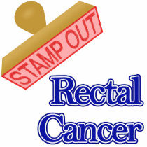 Stamp Out Rectal Cancer Cutout