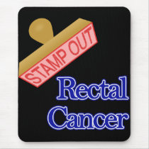 Stamp Out Rectal Cancer Mouse Pad