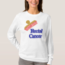 Stamp Out Rectal Cancer T-Shirt