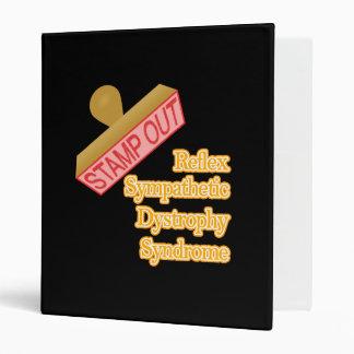 Stamp Out Reflex Sympathetic Dystrophy Syndrome Binder