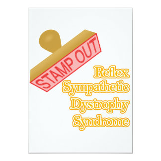 Stamp Out Reflex Sympathetic Dystrophy Syndrome Card