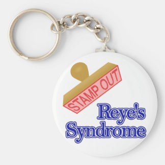 Stamp Out Reye's Syndrome Keychain