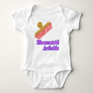 Stamp Out Rheumatoid Arthritis Baby Bodysuit