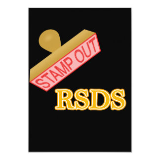 Stamp Out rsds Card