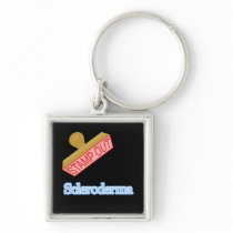Stamp Out Scleroderma Keychain