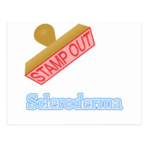Stamp Out Scleroderma Postcard