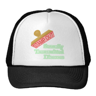 Stamp Out Sexually Transmitted Diseases Mesh Hat