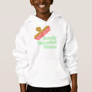 Stamp Out Sexually Transmitted Diseases Hoodie