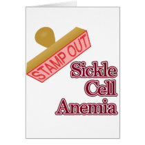 Stamp Out Sickle Cell Anemia Card