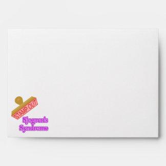 Stamp Out Sjogren's Syndrome Envelope