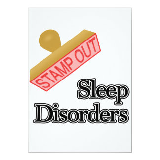 Stamp Out Sleep Disorders Card