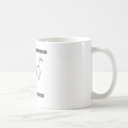Stamp Out Sleepiness Consume Caffeine (Chemistry) Mugs