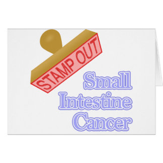Stamp Out Small Intestine Cancer Card