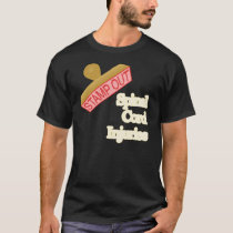Stamp Out Spinal Cord Injuries T-Shirt
