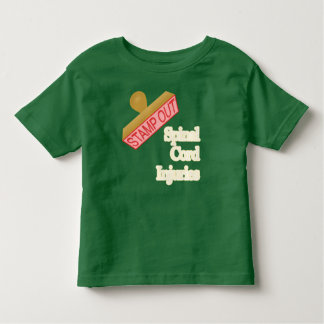 Stamp Out Spinal Cord Injuries Toddler T-shirt