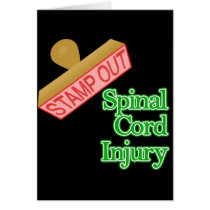 Stamp Out Spinal Cord Injury - Green Card