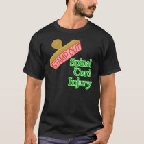 Stamp Out Spinal Cord Injury - Green T-Shirt