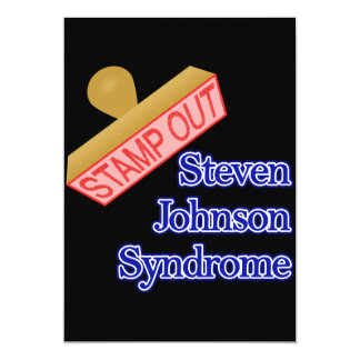 Stamp Out Steven Johnson Syndrome Card