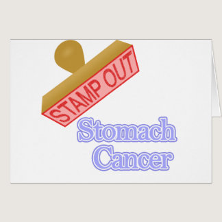 Stamp Out Stomach Cancer Card