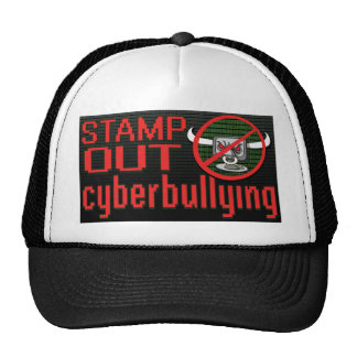 Stamp Out Stop Cyberbullying Trucker Hat