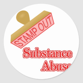 Stamp Out Substance Abuse Stickers