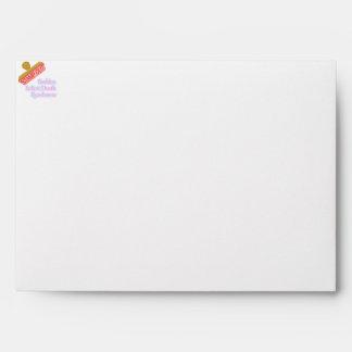 Stamp Out Sudden Infant Death Syndrome Envelope