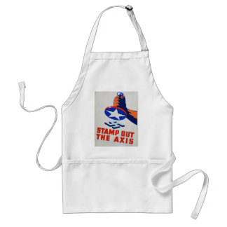 Stamp Out The Axis! Adult Apron