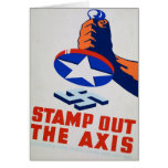 Stamp Out The Axis! Card