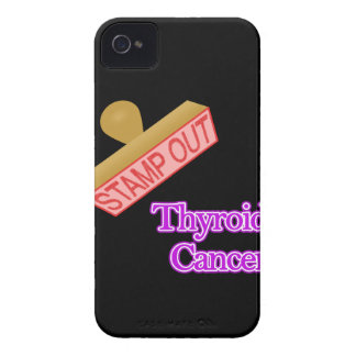 Stamp Out Thyroid Cancer iPhone 4 Case-Mate Case