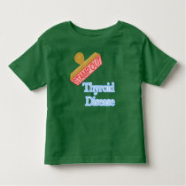 Stamp Out Thyroid Disease Toddler T-shirt
