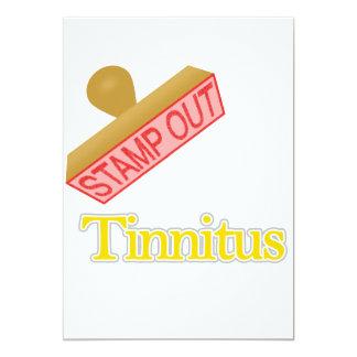 Stamp Out Tinnitus Card