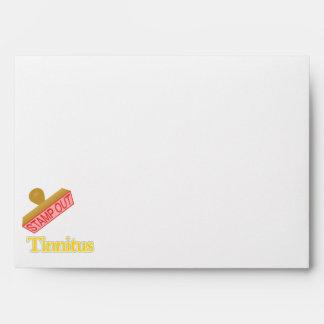 Stamp Out Tinnitus Envelope