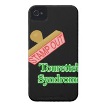 Stamp Out Tourette's Syndrome Case-Mate iPhone 4 Case