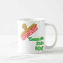 Stamp Out Traumatic Brain Injury Coffee Mug