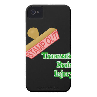 Stamp Out Traumatic Brain Injury iPhone 4 Case-Mate Case