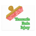 Stamp Out Traumatic Brain Injury Postcard
