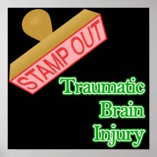 Stamp Out Traumatic Brain Injury Print