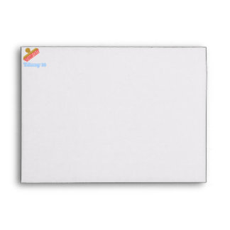 Stamp Out Trisomy 18 Envelopes