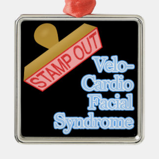 Stamp Out Velo-Cardio Facial Syndrome Ornaments