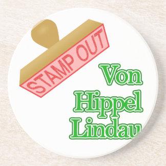 Stamp Out Von Hippel Lindau Sandstone Coaster